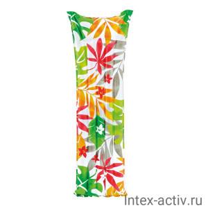 """Матрас надувной Intex 59720 """"Тропики"""" (183х69см)"""