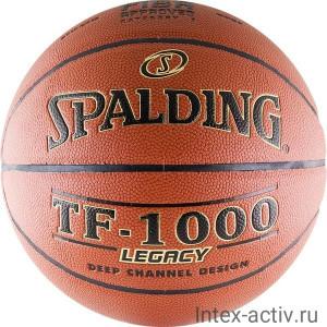 Мяч баскетбольный Spalding TF-1000 Legacy р.7 арт.74-450z
