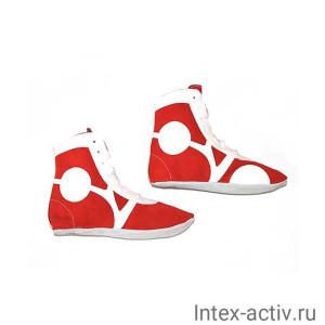 Самбовки Rusco Sport SM-0101 (нат. замша, красный, р.38)