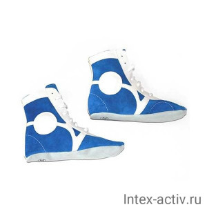 Самбовки Rusco Sport SM-0101 (нат. замша, синий, р.41)