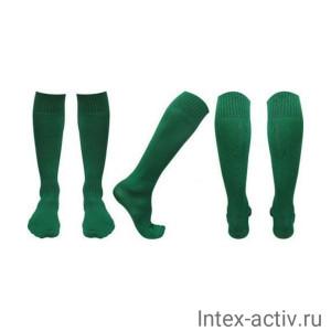 Гетры футбольные зеленые р. 39-41