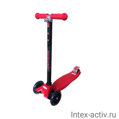 Самокат 4-х колесный SportElite SE220 красный