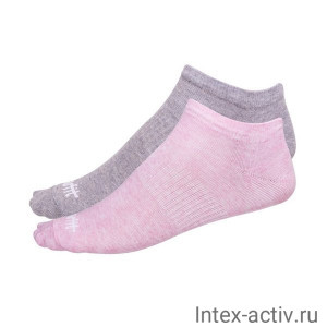 Носки низкие StarFit SW-205 р.35-38 розовый меланж/светло-серый меланж