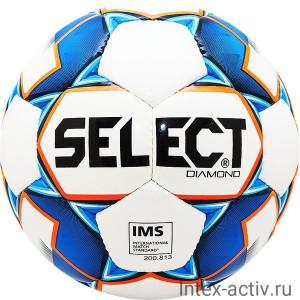 Мяч футбольный SELECT Diamond арт.810015-002 р.5
