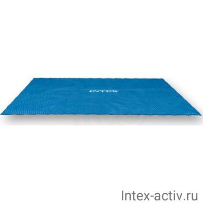 Согревающее солнечное покрывало для прямоугольных бассейнов Intex 29029 (488x244см)
