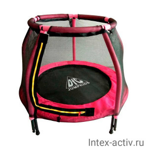 "Батут DFC JUMP KIDS 48"" 48INCH-JD-P розовый, сетка (120см)"