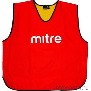 Манишка тренировочная Mitre арт.T21916RN5-JR (объем груди 90см) юниор, полиэстер, красн-желт