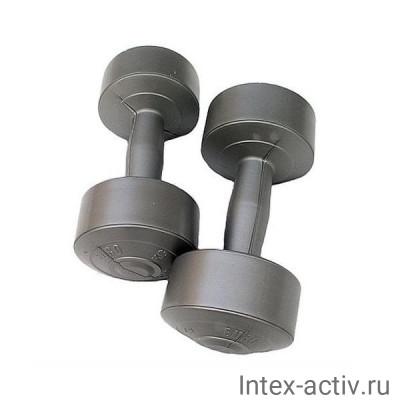 Гантели (2шт) 5 кг винил Россия