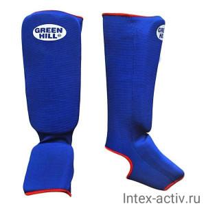 Защита голень-стопа Green Hill SIC-6131 синяя р.S