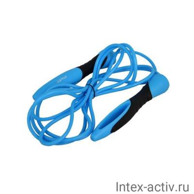 Скакалка StarFit RP-104 3,05 м синяя/черная