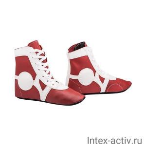 Самбовки Rusco Sport SM-0102 (нат. кожа, красный, р.30)