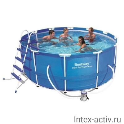 Бассейн каркасный Intex 56420 Steel Pro Max 366х122см