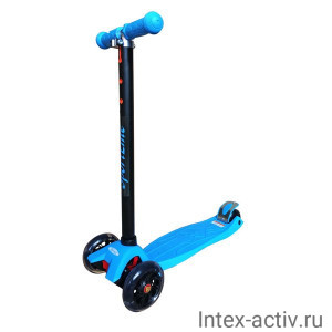 Самокат 4-х колесный SportElite SE230 голубой