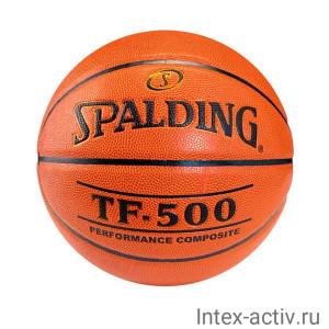 Мяч баскетбольный Spalding TF-500 р.7 арт.74-529