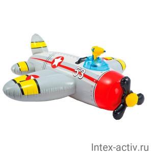 """Надувная игрушка Intex 57537NP """"Самолет"""" 132х130 см"""