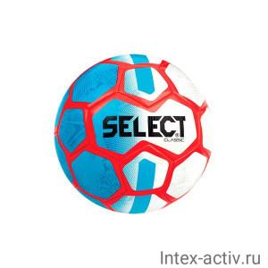 Мяч футбольный Select Classic р.5 белый/синий/оранжевый