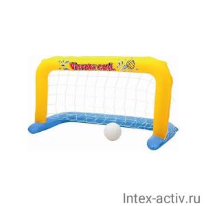 Надувные ворота для поло BestWay 52123 (137х66см) с мячом