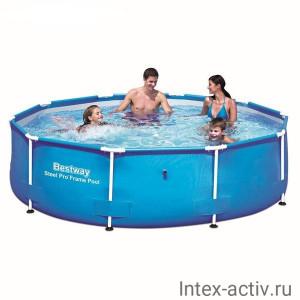 Каркасный бассейн Bestway 56406 (305х76см)