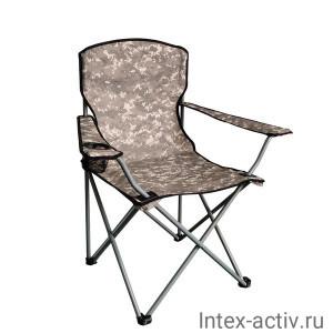 Кресло кемпинговое складное с подстаканником CK-202
