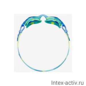 Очки для плавания TYR Kids Swimple Tie Dye, LGSWTD/487 (голубой)