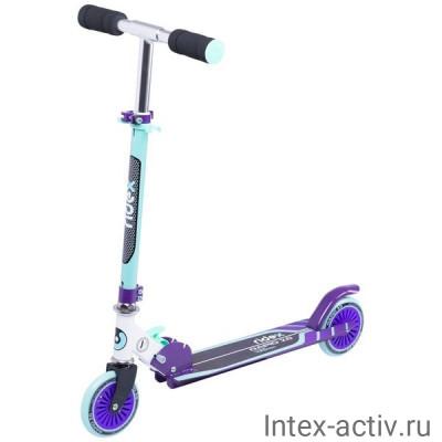 Самокат 2-колесный Ridex Rapid 2.0 125 мм, мятный/фиолетовый