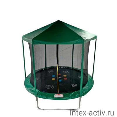 Батут SportElite HOME FR-30 8FT (2,44м) защитной сеткой и крышей
