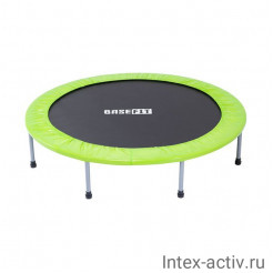 Батут BASEFIT TR-102 137 см, зеленый