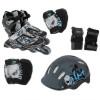 Роликовые коньки Action PW-117C + защита, шлем р.26-29