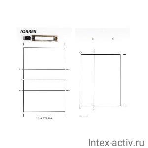 Тактическая доска для волейбола Torres арт. TR1001V