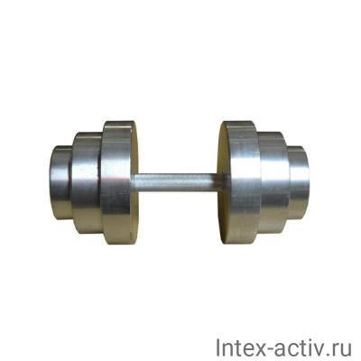 Гантель (1 шт) 10 кг сборная Россия