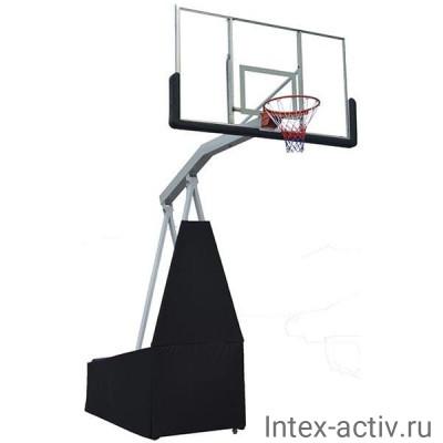 Баскетбольная мобильная стойка DFC STAND72G 180x105