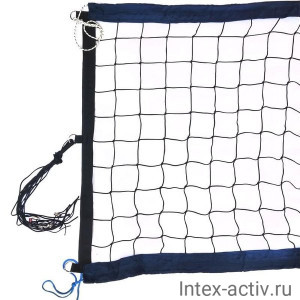 Сетка для пляжного волейбола FS№12 8,5х1м черная