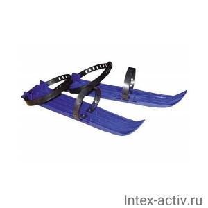 Мини-лыжи большие 2 ремня L-41см. (Арт.038)