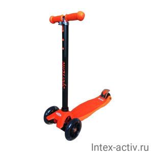 Самокат 4-х колесный SportElite SE250 оранжевый