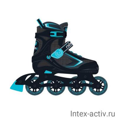 Ролики раздвижные Ridex Tron Blue р.S/31-34