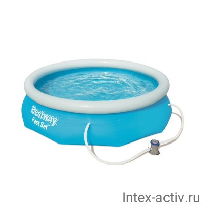 Бассейн с надувным бортом Bestway 57270 (305х76см)