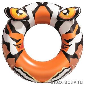 """Надувной круг для плавания Bestway 36122 """"Хищники"""" 91 см 10+"""