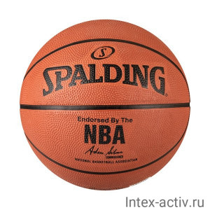Мяч баскетбольный Spalding NBA Silver арт.83014Z р.5