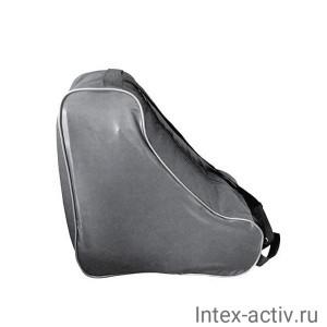 Сумка для коньков/роликов СК011.032 серебро