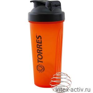 Шейкер спортивный Torres 600 мл арт.S01-600