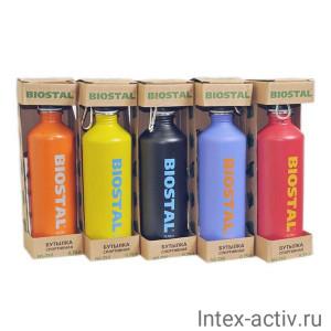 Спортивная бутылка BIOSTAL NS-750 0,75л цвета в ассортименте