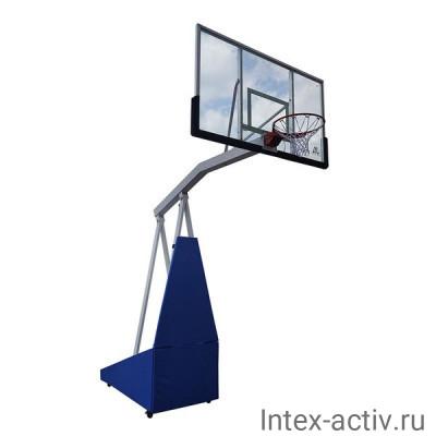 Баскетбольная мобильная стойка DFC STAND72G PRO
