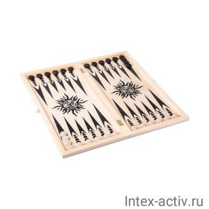"""Нарды """"Вьюн"""" арт.042-11 дорожные"""