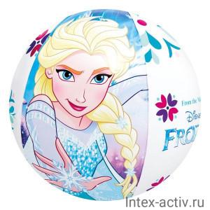"""Надувной мяч Intex 58021NP """"Холодное сердце"""" 51см 3+"""