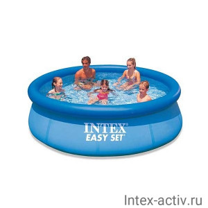 "Надувной бассейн Intex 28130NP ""Easy Set Pool"" 366х76см"