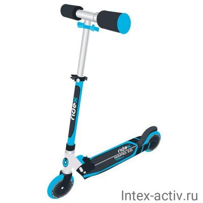 Самокат 2-колесный Ridex Rapid 2.0 125 мм, синий