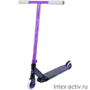 Самокат трюковый XAOS Prism Purple 100 мм