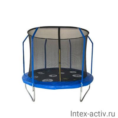 Батут SportElite PLAY FR-80 8FT (2,44м) c защитной сеткой внутрь