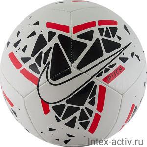 Мяч футбольный Nike Pitch арт.SC3807-102 р.5