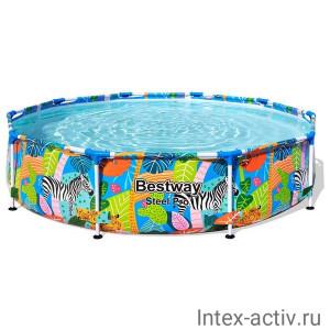 Каркасный бассейн Bestway 56985 (305х66см) разноцветный